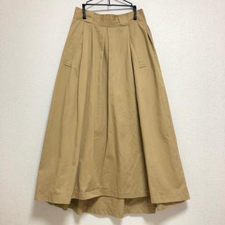 ページボーイ(PAGEBOY)のチノマキシフレアスカート(ロングスカート)