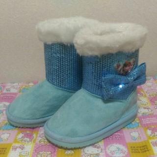 ディズニー(Disney)のアナ雪 サイズ16 ムートンブーツ(ブーツ)