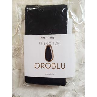 ウォルフォード(Wolford)の*OROBLU*4,644円 コットン混 タイツ サイズM(タイツ/ストッキング)