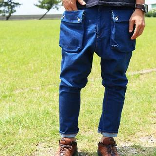ネイタルデザイン(NATAL DESIGN)のG55 Sarouel Flap Denim Pants(デニム/ジーンズ)