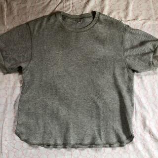 ユニクロ(UNIQLO)のユニクロ ワッフルクルーネックT(カットソー(半袖/袖なし))