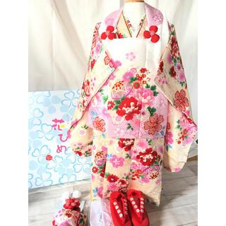 正絹  花ひめ  被布セット(和服/着物)