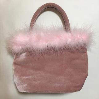 ハニーミーハニー(Honey mi Honey)のThe Virgins Bag ピンク バッグ ※半額 ※値下げ不可(ハンドバッグ)