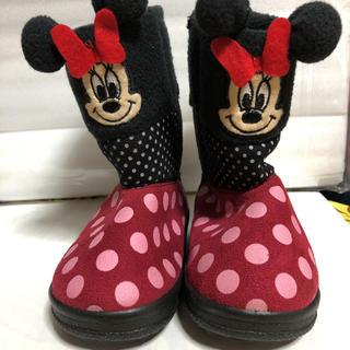 ディズニー(Disney)のミニーマウス ブーツ 14cm(ブーツ)