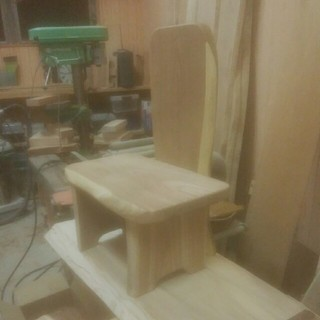 YUZ(プロフ必読)様専用飾り椅子塗装加工(家具)