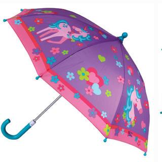 ステファンジョセフ パープルユニコーン アンブレラ 傘 紫 子供(傘)