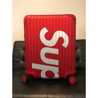 シュプリーム(Supreme)のSupreme RIMOWA Topas Multiwheel 45L (トラベルバッグ/スーツケース)