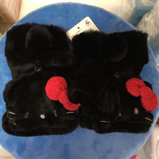 サンリオ(サンリオ)のキティ ボア マフラー & 手袋(手袋)