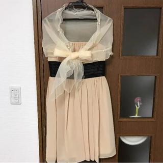 結婚式お呼ばれドレス 38サイズ表記(ひざ丈ワンピース)