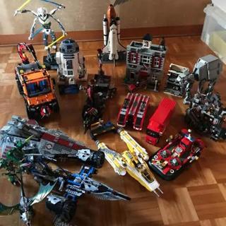 レゴ(Lego)のLEGO 完成品 セット ➕ミニフィグ約100体  バケツ付き(模型/プラモデル)