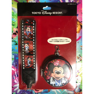 ディズニー(Disney)の【イマジニングザマジック】蜷川実花コラボ カメラストラップ  ミッキー(ネックストラップ)