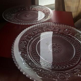 バカラ(Baccarat)のバカラ アラベスク  プレート  20cm  4枚セット(食器)
