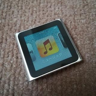アップル(Apple)の■中古 Apple iPod nano 第6世代 8GB 訳あり品(ポータブルプレーヤー)