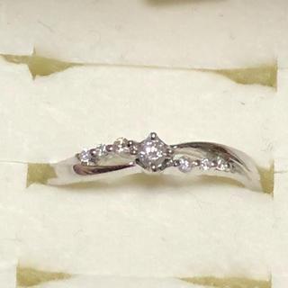 ヨンドシー(4℃)のWGダイヤリング(リング(指輪))