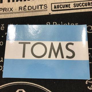 トムズ(TOMS)のTOMS♡ステッカー(スニーカー)