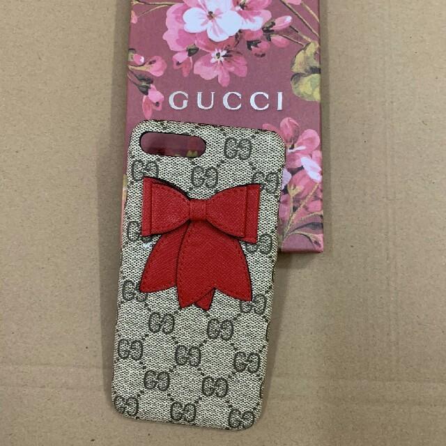 プラダ iPhone7 plus ケース 、 Gucci - GUCCI グッチ iPhone7plus/8plusケース 携帯ケースの通販 by Dino D's shop|グッチならラクマ