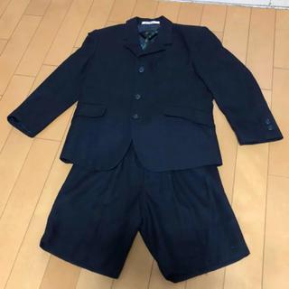 ヒロミチナカノ(HIROMICHI NAKANO)のおまけ付き❗️紺色男の子 スーツ 120(ドレス/フォーマル)
