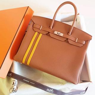 エルメス(Hermes)の美品♥️エルメス バーキン オフィシエ ゴールド レア C刻印(ハンドバッグ)