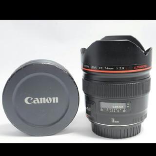 キヤノン(Canon)のCanon EF 14mm F2.8 L USM キャノン レンズ 中古 カメラ(レンズ(ズーム))
