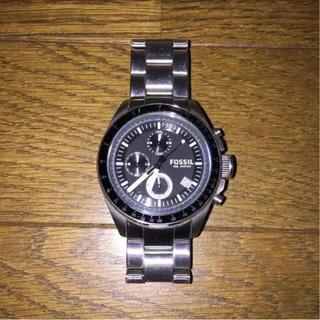 フォッシル(FOSSIL)のFOSSIL 腕時計 銀(腕時計(アナログ))