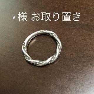 アガット(agete)のagate  シルバー ツイストリング(リング(指輪))