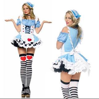 ディズニー(Disney)のアリス コスプレ コスチューム 衣装 ドレス ミス ワンダーランド(衣装一式)