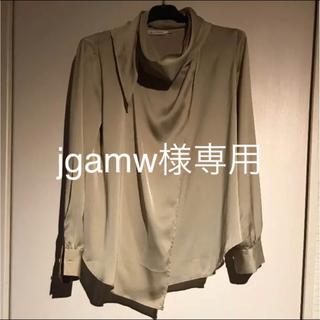 アーバンリサーチ(URBAN RESEARCH)のMeker's  Shirt シャンパンゴールドのブラウス(シャツ/ブラウス(長袖/七分))