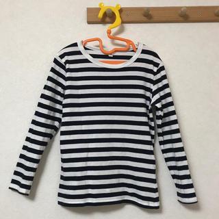 ムジルシリョウヒン(MUJI (無印良品))のボーダーロンT(Tシャツ/カットソー)