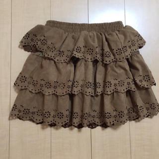 シマムラ(しまむら)のフリル 膝丈スカート(ひざ丈スカート)