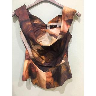 ヴィヴィアンウエストウッド(Vivienne Westwood)のchel様 専用 お取り置き コルセット風トップス&Tシャツ(シャツ/ブラウス(半袖/袖なし))