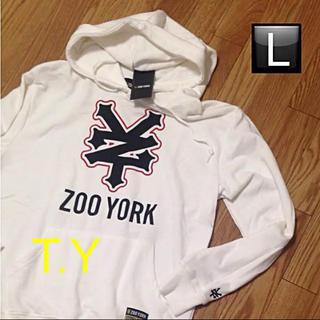 ズーヨーク(ZOO YORK)のZOO YORK pullover パーカー ★Supreme Stussy好き(パーカー)