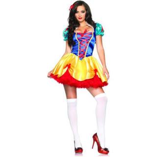 ディズニー(Disney)の★白雪姫★ ペチコート付き ハロウィン 衣装 コスプレ(衣装一式)
