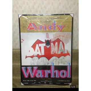 アンディウォーホル(Andy Warhol)のBATMAN ポスター アンディ ウォーホル バットマン Andy Warhol(絵画/タペストリー)