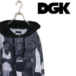 ディージーケー(DGK)のDGK ディージーケー パーカー フーディー ストリート 黒人 ブラック(パーカー)