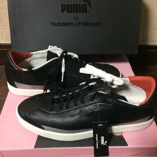 プーマ(PUMA)の新品◇Puma by フセインチャラヤン レザー スニーカー 黒(スニーカー)
