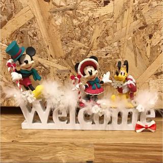 ディズニー(Disney)のウェルカムボード ミッキー ミニー プルート ディズニー(ウェルカムボード)
