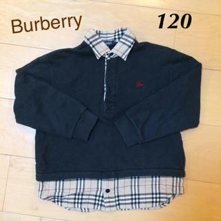 バーバリー(BURBERRY)のBurberry120 襟付きトレーナー(その他)