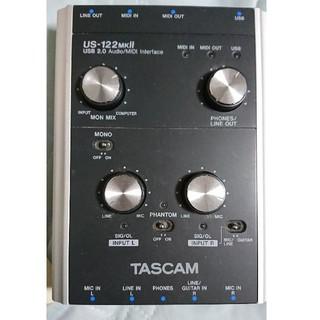 TASCAM オーディオインターフェース US-122MK2(オーディオインターフェイス)