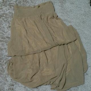 グレイル(GRL)のベージュロングスカート(お取り置き中)(ロングスカート)
