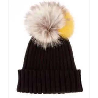 ルシェルブルー(LE CIEL BLEU)の新品未使用 ルシェルブルー☆ニット帽(ニット帽/ビーニー)