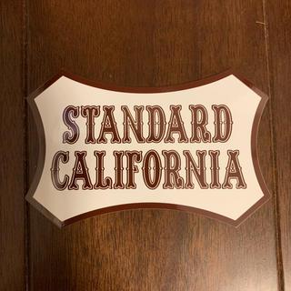 スタンダードカリフォルニア(STANDARD CALIFORNIA)のスタンダードカリフォルニア  ステッカー(その他)