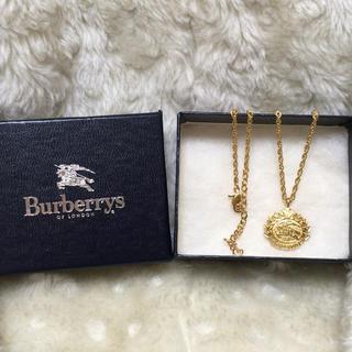 バーバリー(BURBERRY)のバーバリー Burberry ネックレス ゴールド(ネックレス)