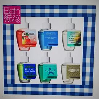 バスアンドボディーワークス(Bath & Body Works)の3本セット バスアンドボディワークス ウォールフラワー リフィル(アロマオイル)
