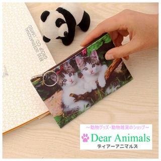 猫 ネコちゃんコインケース・小物入れ♪ 新品未使用品 送料無料 002(猫)