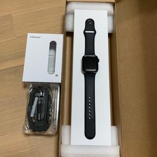 アップルウォッチ(Apple Watch)の【なお様専用】アップルウォッチ series4 ステンレスモデル(スマートフォン本体)