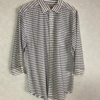 グリーンレーベルリラクシング(green label relaxing)の七分袖シャツ XLサイズ(Tシャツ/カットソー(七分/長袖))