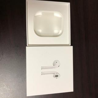 アップル(Apple)のエアーポッズ 便利品付き airpods(ヘッドフォン/イヤフォン)