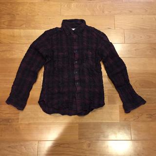 スリーブラインドマイス(THREE BLIND MICE)のTHREE BLIND MICE チェックネルシャツ(シャツ)