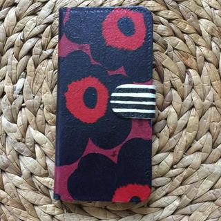 マリメッコ(marimekko)のiPhone7.8 ハンドメイド マリメッコ 手帳携帯ケース(iPhoneケース)