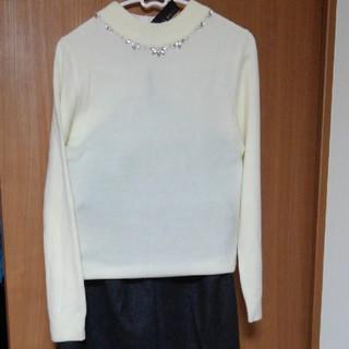 シマムラ(しまむら)のニットセーターとキュロットスカート(キュロット)